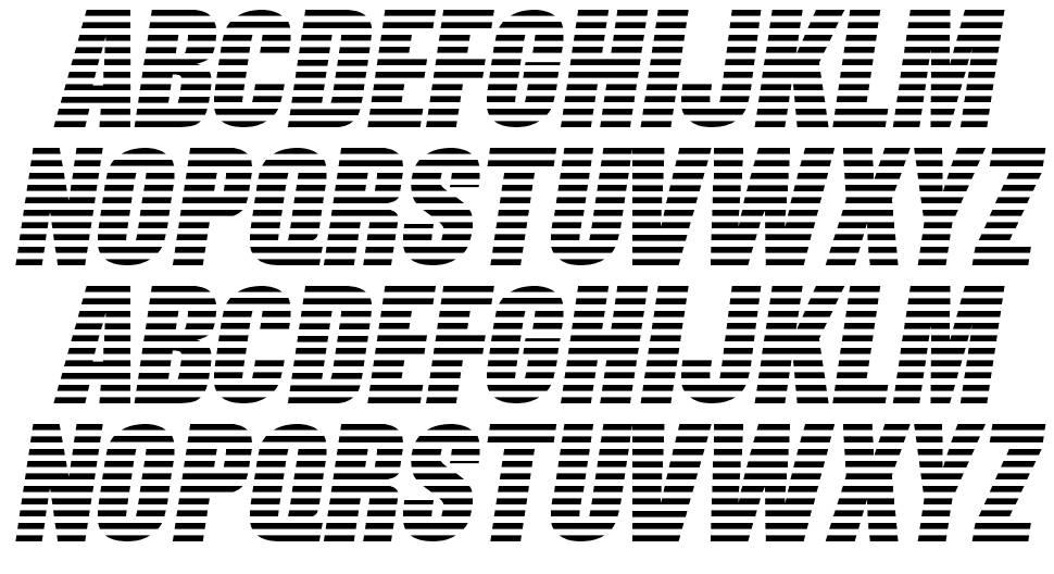 Former Airlines font