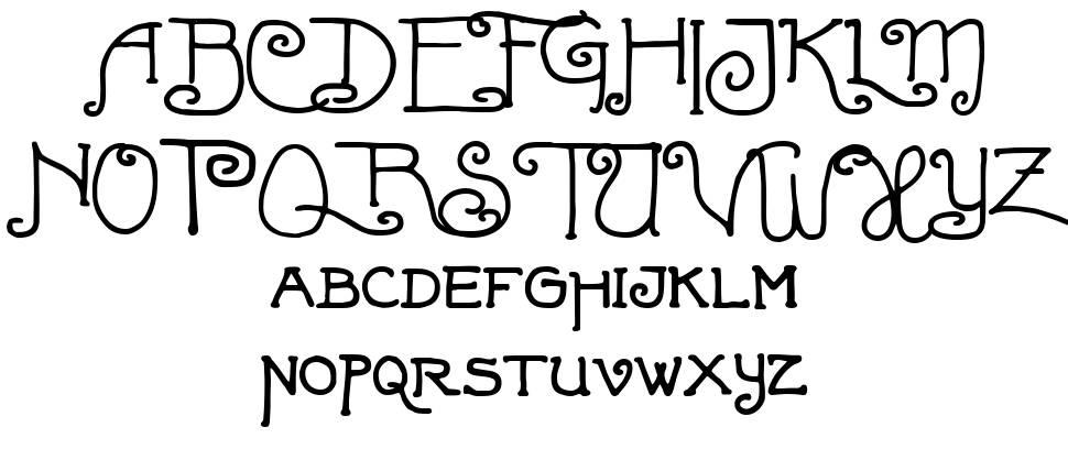 Fortunaschwein písmo