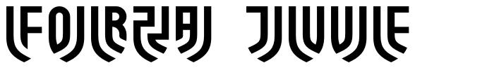 Forza Juve フォント