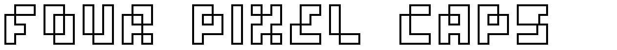 Four Pixel Caps