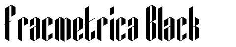 Fracmetrica Black font