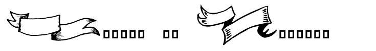 Frames 'n Riboons font