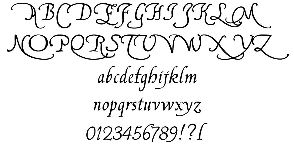 Francisco Lucas 字形