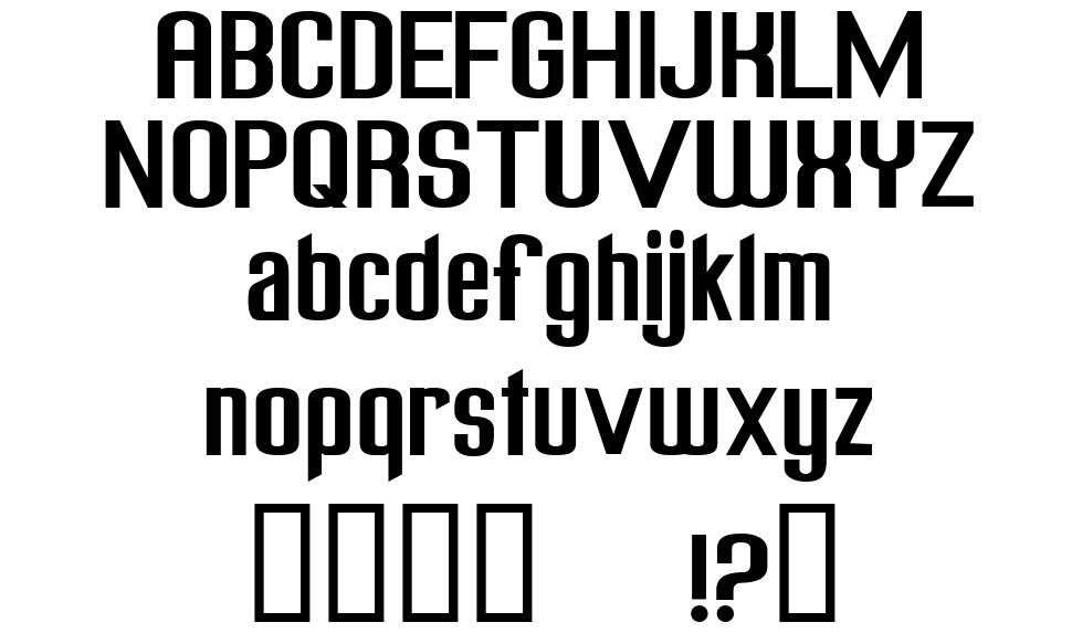 Freak out Go bananas font
