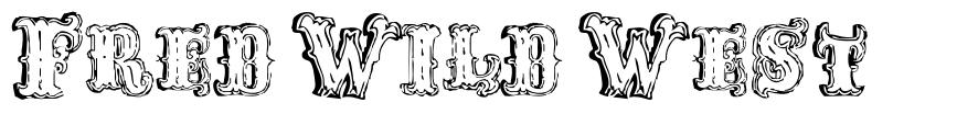 Fred Wild West font