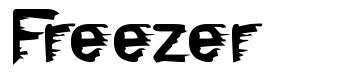 Freezer font
