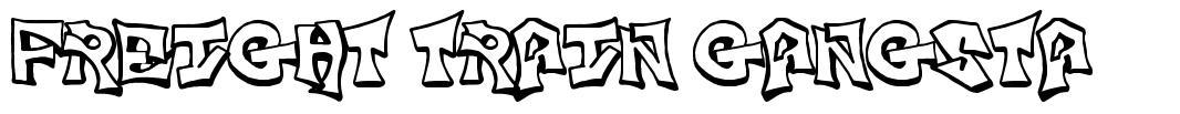 Freight Train Gangsta font