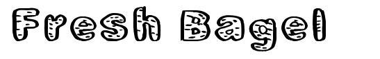 Fresh Bagel font