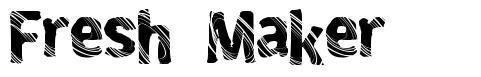 Fresh Maker font