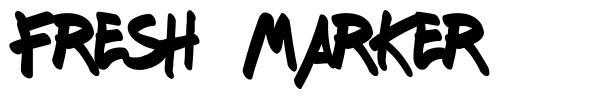 Fresh Marker 字形