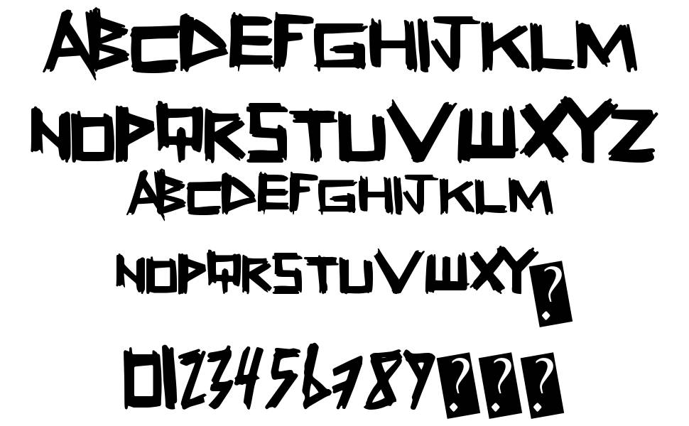 Fresh Sticks font