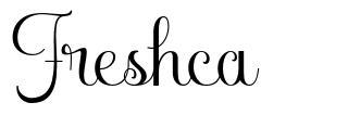 Freshca font