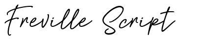 Freville Script