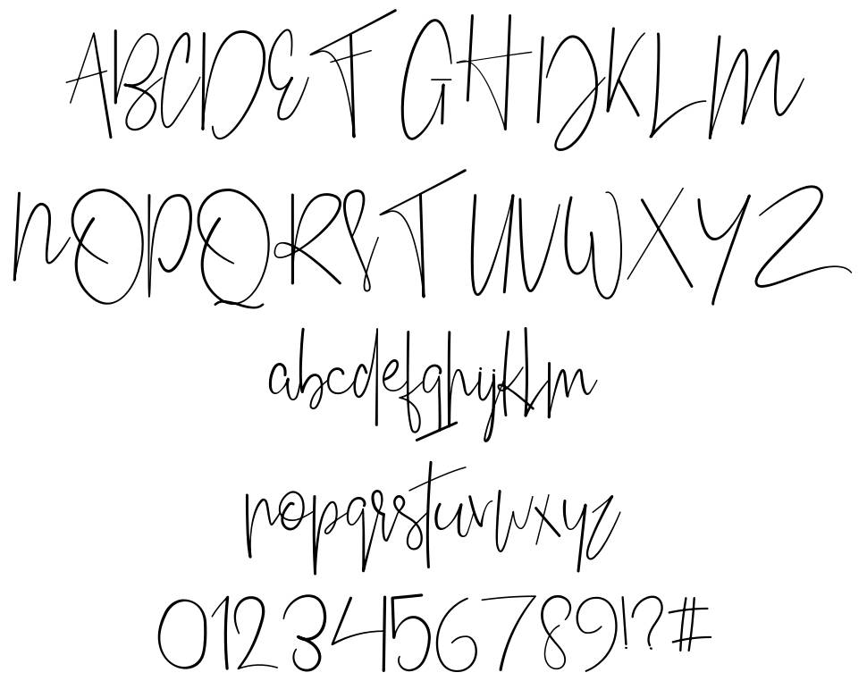Friday Sunday font