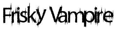 Frisky Vampire font