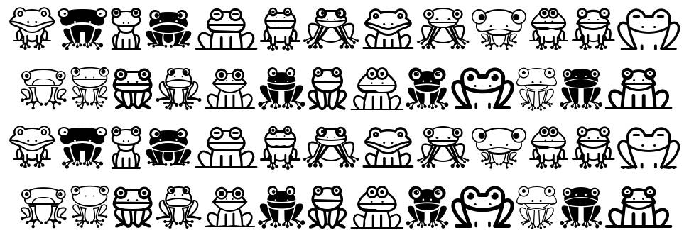 Froggy schriftart