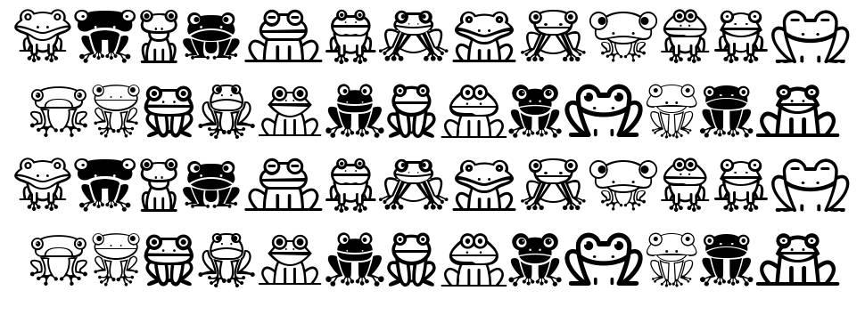 Froggy फॉन्ट