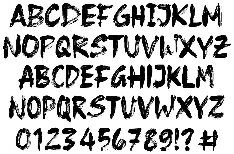 Frost Vector font