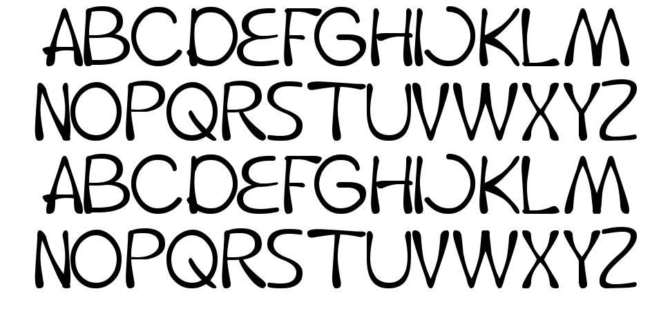 Fruit Vegetable font