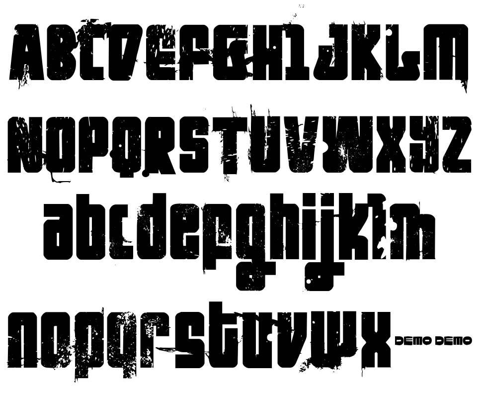 FT Nihilist Philosophy font