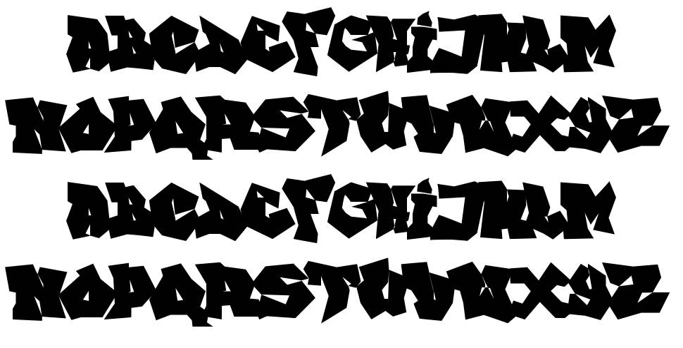 FTF Indonesiana Go Graffitiana font