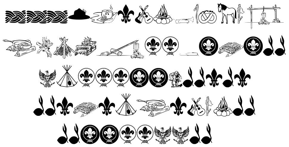 FTF Indonesiana Scout font