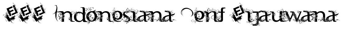 FTF Indonesiana Serif Hijauwana フォント