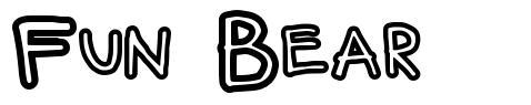 Fun Bear font