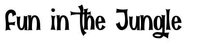 Fun in the Jungle font