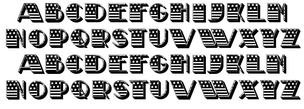 Funeral font