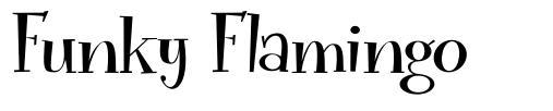 Funky Flamingo font