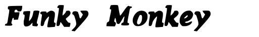 Funky Monkey font