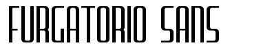 Furgatorio Sans font