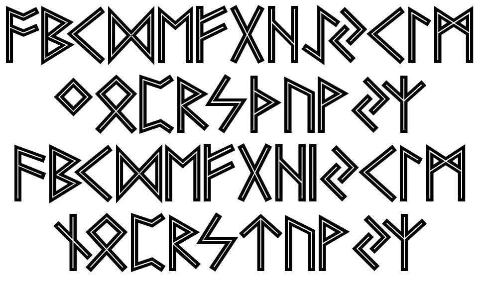 Futhark AOE font
