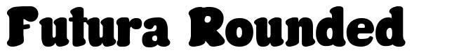 Futura Rounded font