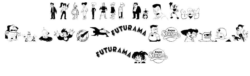 Futurama Dingbats font