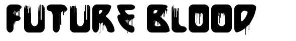Future Blood font