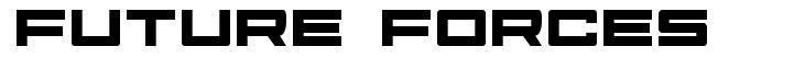 Future Forces font