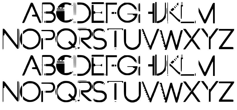Future Paint font