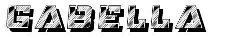 Gabella font
