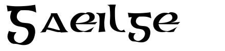 Gaeilge font