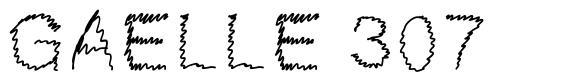 Gaelle 307 шрифт