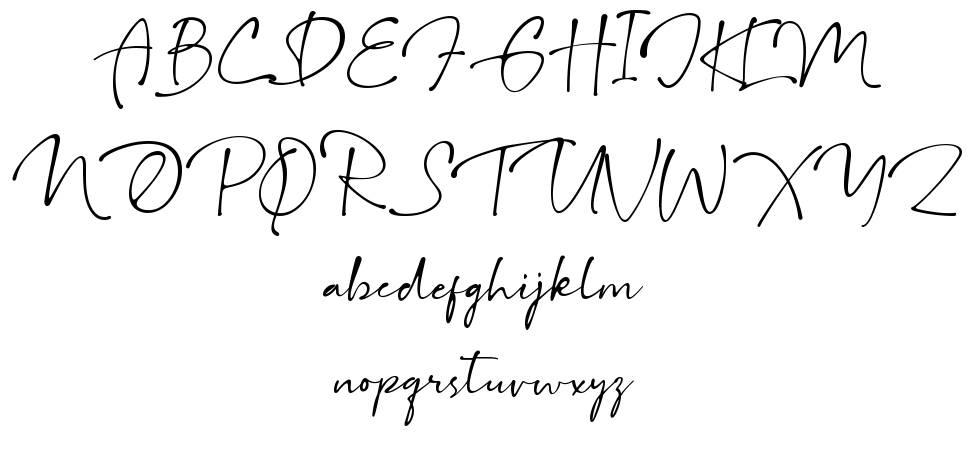 Gallatone font