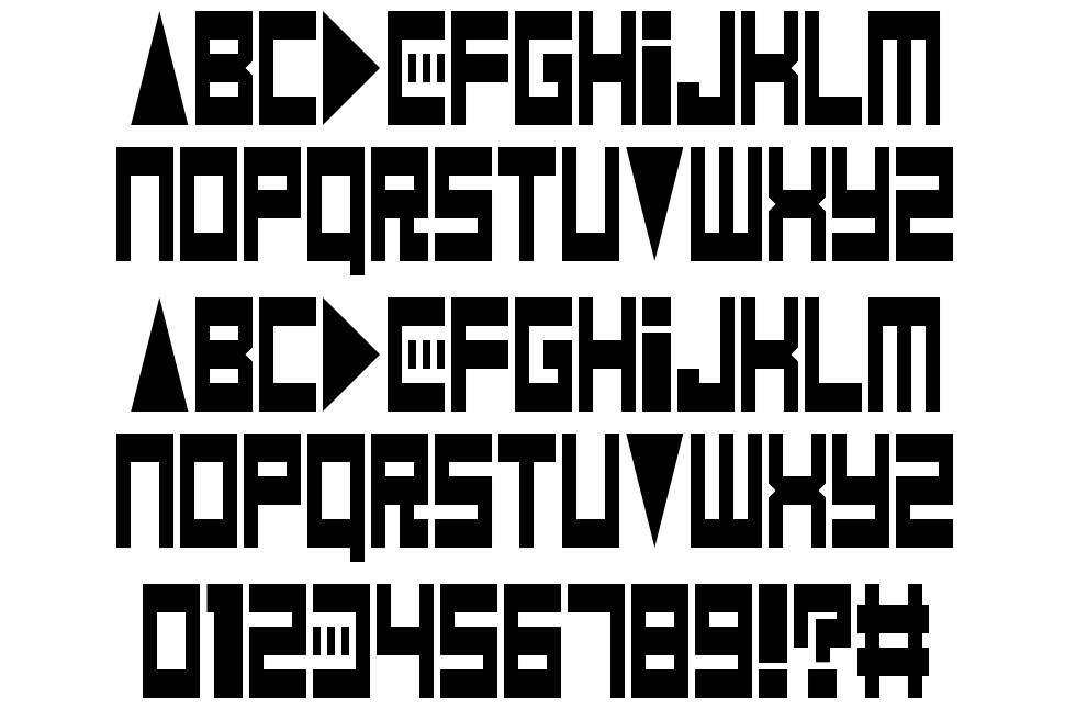 Game Over Dude font