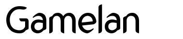 Gamelan font