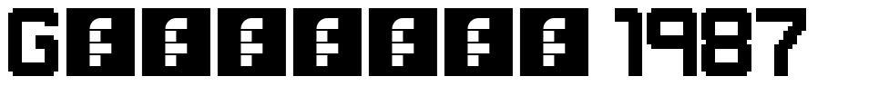 Gameplay 1987