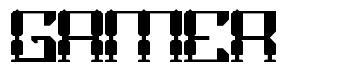 Gamer font