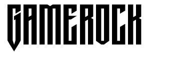 Gamerock フォント