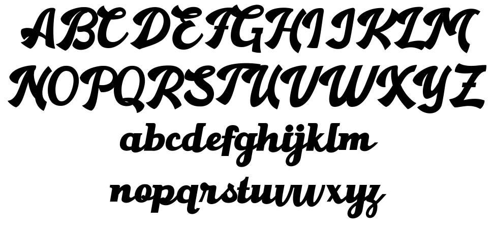 Gantry フォント