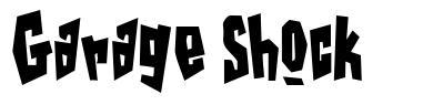 Garage Shock font